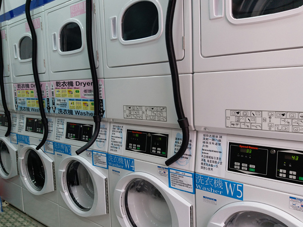 Commercial grade washers and dryers
